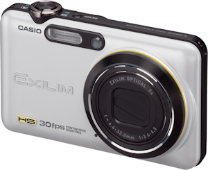 Casio's EXILIM EX-FC100 digital camera. Photo provided by Casio America Inc. Click for a bigger picture!