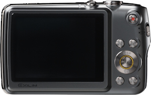 Casio's EXILIM EX-FS10 digital camera. Photo provided by Casio America Inc. Click for a bigger picture!