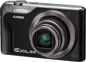 Casio's EXILIM Hi-Zoom EX-H10 digital camera. Photo provided by Casio America Inc. Click for a bigger picture!