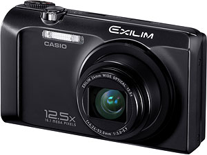 Casio's EXILIM EX-H30 digital camera. Photo provided by Casio America Inc. Click for a bigger picture!