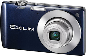 Casio's EXILIM Card EX-S200 digital camera. Photo provided by Casio Computer Co. Ltd. Click for a bigger picture!