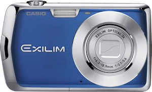 Casio's EXILIM EX-S5 digital camera. Photo provided by Casio America Inc. Click for a bigger picture!