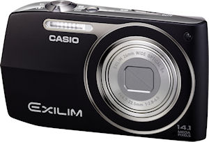 Casio's EXILIM Zoom EX-Z2000 digital camera. Photo provided by Casio America Inc. Click for a bigger picture!