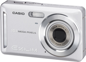 Casio's EXILIM Zoom EX-Z29 digital camera. Photo provided by Casio America Inc. Click for a bigger picture!