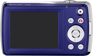 Casio's EX-Z35 digital camera. Photo provided by Casio America Inc. Click for a bigger picture!