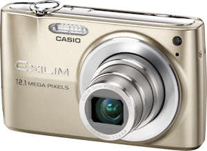 Casio's EXILIM EX-Z400 digital camera. Photo provided by Casio America Inc. Click for a bigger picture!
