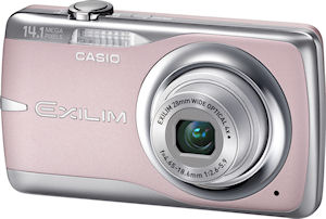 Casio's EXILIM Zoom EX-Z550 digital camera. Photo provided by Casio America Inc. Click for a bigger picture!