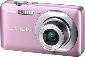 Casio's EXILIM Zoom EX-Z800 digital camera. Photo provided by Casio Computer Co. Ltd. Click for a bigger picture!