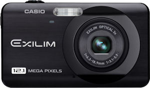 Casio's EXILIM EX-Z90 digital camera. Photo provided by Casio America Inc. Click for a bigger picture!