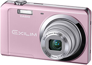 Casio's EXILIM EX-ZS5 digital camera. Photo provided by Casio America Inc. Click for a bigger picture!
