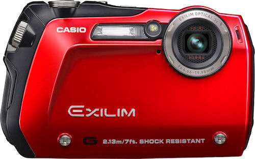 Casio's EXILIM G EX-G1 digital camera. Photo provided by Casio America Inc. Click for a bigger picture!