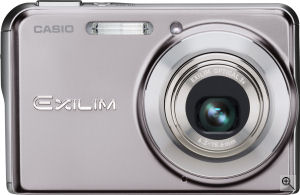 Casio's EXILIM CARD EX-S770 digital camera. Courtesy of Casio, with modifications by Michael R. Tomkins. Click for a bigger picture!