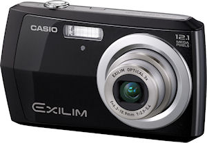 Casio's EXILIM EX-Z16 digital camera. Photo provided by Casio America, Inc. Click for a bigger picture!