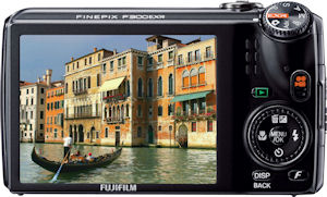 Fujifilm's FinePix F300EXR digital camera. Photo provided by Fujifilm North America Corp. Click for a bigger picture!
