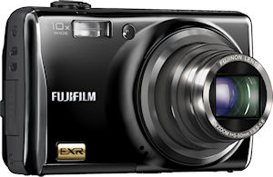 Fujifilm's FinePix F80EXR digital camera. Photo provided by Fujifilm North America Corp. Click for a bigger picture!