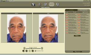 Reallusion's FaceFilter. Copyright (c) 2004, The Imaging Resource. All rights reserved.