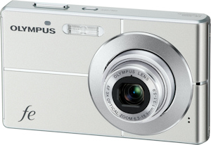 Olympus' FE-3000 digital camera. Photo provided by Olympus Imaging America Inc. Click for a bigger picture!