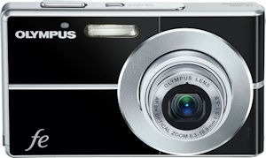 Olympus' FE-3010 digital camera. Photo provided by Olympus Imaging America Inc. Click for a bigger picture!