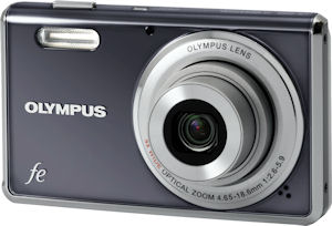 Olympus' FE-4000 digital camera. Photo provided by Olympus Imaging America Inc. Click for a bigger picture!