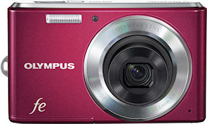 Olympus' FE-4050 digital camera. Photo provided by Olympus Imaging Corp.
