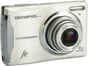 Olympus' FE-46 digital camera. Photo provided by Olympus Imaging America Inc. Click for a bigger picture!