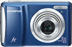 Olympus' FE-47 digital camera. Photo provided by Olympus Imaging America Inc. Click for a bigger picture!
