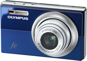 Olympus' FE-5010 digital camera. Photo provided by Olympus Imaging America Inc. Click for a bigger picture!