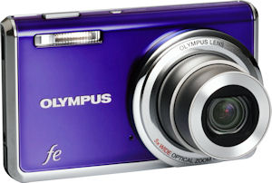Olympus' FE-5020 digital camera. Photo provided by Olympus Imaging America Inc. Click for a bigger picture!