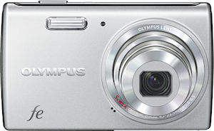 Olympus' FE-5040 digital camera. Photo provided by Olympus Imaging Corp.