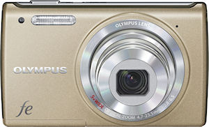 Olympus' FE-5050 digital camera. Photo provided by Olympus Imaging Corp.