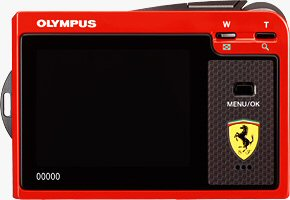 The Ferrari DIGITAL MODEL 2004 digital camera. Courtesy of Olympus, with modifications by Michael R. Tomkins.