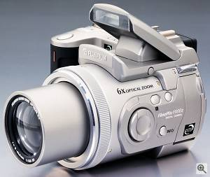 Fuji's FinePix 4900Z digital camera - click for a bigger picture!