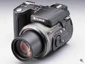 Fuji's FinePix 6900Z digital camera. Courtesy of  Fuji. Click for a bigger picture!