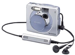 Fuji's FinePix 30i digital camera. Courtesy of Fuji Germany with modifications by Michael R. Tomkins.