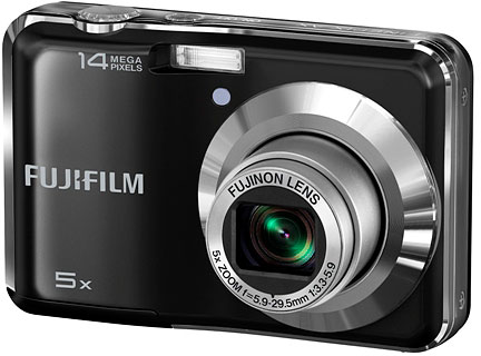 Fujifilm's FinePix AX300 digital camera. Photo provided by Fujifilm North America Corp.
