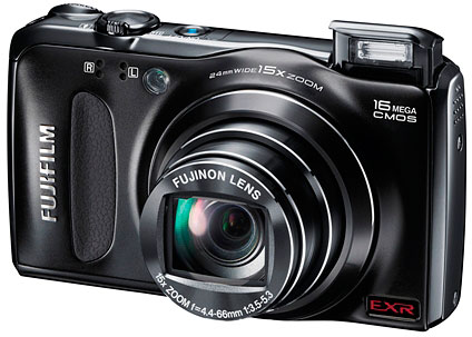 Fujifilm's FinePix F500EXR digital camera. Photo provided by Fujifilm North America Corp.