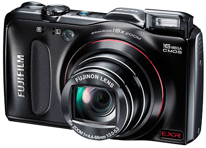 Fujifilm's FinePix F550EXR digital camera. Photo provided by Fujifilm North America Corp.