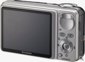 Fujifilm's FinePix F650 digital camera. Courtesy of Fujifilm, with modificatioms by Michael R. Tomkins. Click for a bigger picture!