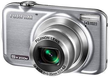 Fujifilm's FinePix JX300 digital camera. Photo provided by Fujifilm North America Corp.