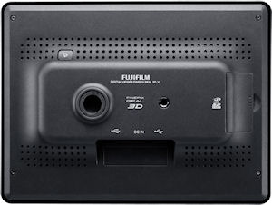 Fujifilm's FinePix REAL 3D V1 digital camera. Photo provided by Fujifilm Europe. Click for a bigger picture!