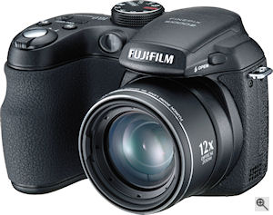 Fujifilm's FinePix S1000fd digital camera. Courtesy of Fujifilm, with modifications by Michael R. Tomkins. Click for a bigger picture!