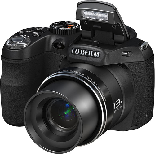 Fujifilm's FinePix S2950 digital camera. Photo provided by Fujifilm North America Corp. Click for a bigger picture!