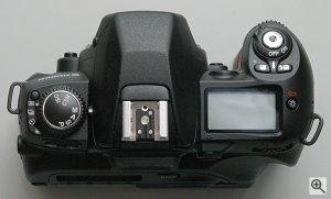 Fuji's FinePix S2 Pro digital camera. Copyright © 2002, Michael R. Tomkins. All rights reserved. Click for a bigger picture!