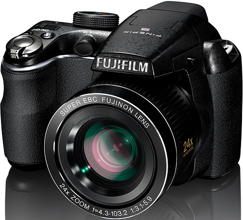 Fujifilm's FinePix S3200 digital camera. Photo provided by Fujifilm North America Corp. Click for a bigger picture!