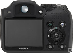 Fujifilm's FinePix S700 digital camera. Courtesy of Fujifilm, with modifications by Michael R. Tomkins. Click for a bigger picture!