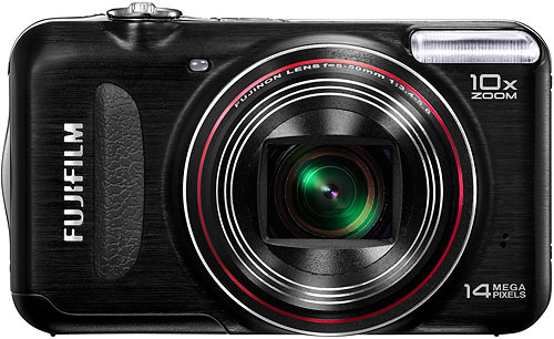 Fujifilm's FinePix T300 digital camera. Photo provided by Fujifilm North America Corp. Click for a bigger picture!
