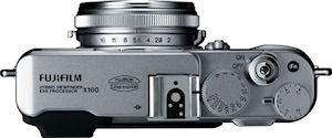 Fujifilm's FinePix X100 digital camera. Photo provided by Fujifilm Corp. Click for a bigger picture!