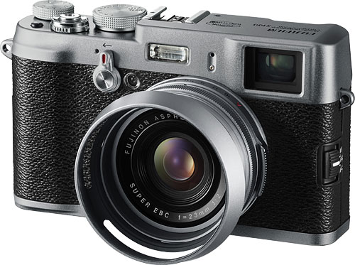 Fujifilm's FinePix X100 digital camera. Photo provided by Fujifilm Canada Inc. Click for a bigger picture!