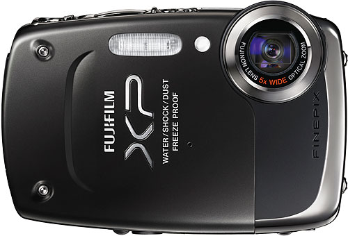 Fujifilm's FinePix T200 digital camera. Photo provided by Fujifilm North America Corp. Click for a bigger picture!