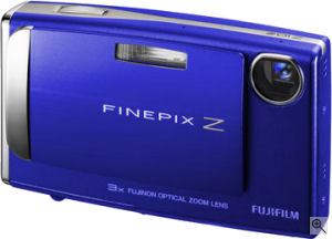 Fujifilm's FinePix Z10fd digital camera. Courtesy of Fujifilm, with modifications by Michael R. Tomkins. Click for a bigger picture!